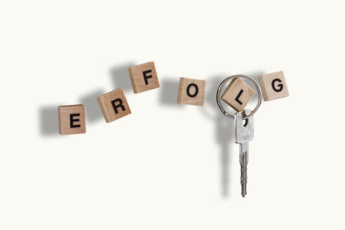 Key, Letters forming the word success - 10630CS-U