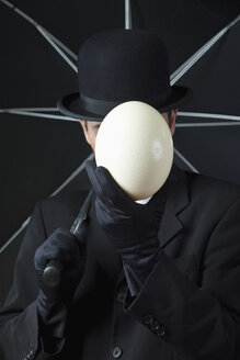 Businessman, man without face - MAE01602
