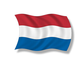 Illustration, Flag, Kingdom of the Netherlands - 11014CS-U