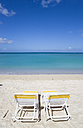 Grenada, Saint George´s, Morne Rouge Beach, Two Deckchairs - PSF00022