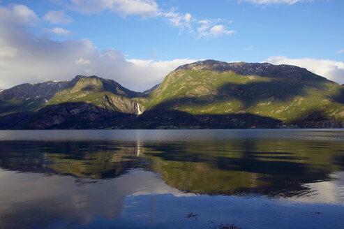 Norway, Lustrafjord, Panoramic view - MR01165