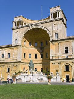 Italy, Rome, Vatican City, Museum, Cortile della Pigna - PSF00128