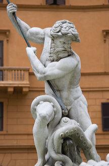 Italy, Rome, Piazza Navona, Neptune Fountain - PSF00092