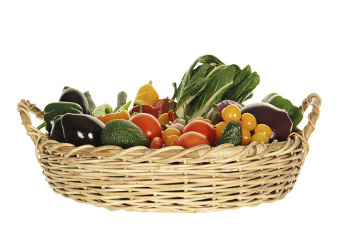 Variety of vegetables in basket - 00503LR-U