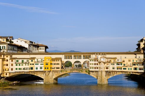 Italy, Florence, Ponte Vecchio, Bridge over Arno River - PSF00282