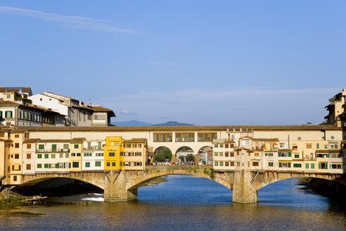 Italy, Florence, Ponte Vecchio, Bridge over Arno River - PSF00282