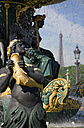 France, Paris, Fountain, Eiffel Tower in background - PSF00192
