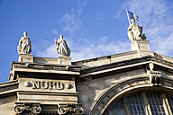 France, Paris, Gare du Nord, low angle view - PSF00186