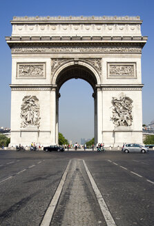 France, Paris, Arc de Triomphe, Place Charles De Gaulle - PSF00162