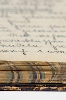 Old-fashioned Cookbook, close-up - AWDF00397