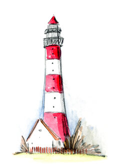 Illustration, Lighthouse - KTF00024
