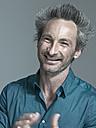 Man smiling, portrait - WEST12312