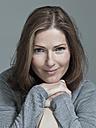 Woman smiling, portrait, close-up - WEST12273
