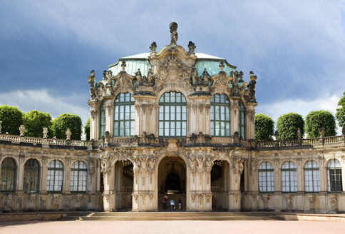 Germany, Saxony, Dresden,   	 Rampart Pavilion at Zwinger Palace - PSF00371