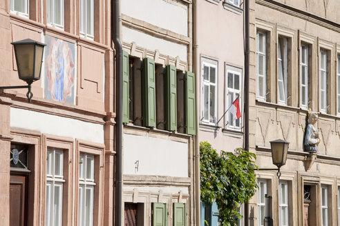 Germany, Bavaria, Franconia, Bamberg, Row of houses - WDF00613