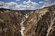 USA, Yellowstone Park, Yellowstone Canyon with river - FOF01863