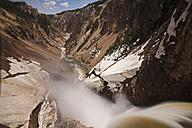 USA, Yellowstone Park, Lower Yellowstone Falls - FOF01860