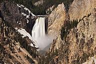 USA, Yellowstone Park, Lower Yellowstone Falls - FOF01857