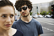 Germany, Berlin, Young couple, portrait, close-up - VVF00043