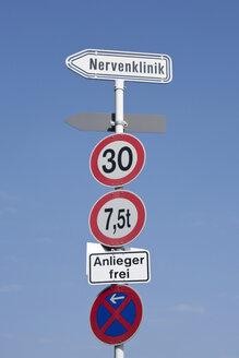 Germany, Traffic Signs - WDF00614