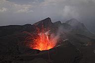 Japan, Suwanose jima volcano erupting - RMF00433