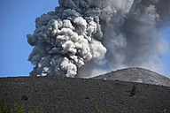 Indonesia, Sumatra, Krakatoa volcano erupting - RMF00409