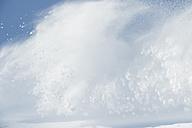Austria, View of arlberg mountain with snow - MIRF00052
