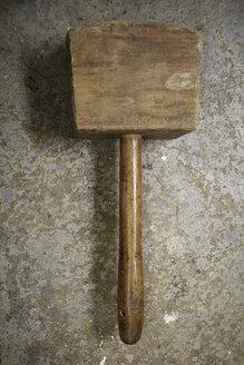 Close up of wooden hammer - TLF00451