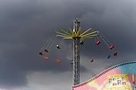 Germany, Hamburg, View of carousel at fair - TLF000503