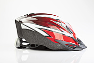 Bicycle helmet on white background - MAEF002393