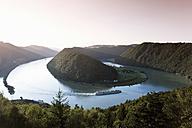 Austria, Elevated view of danube river - MSF002392