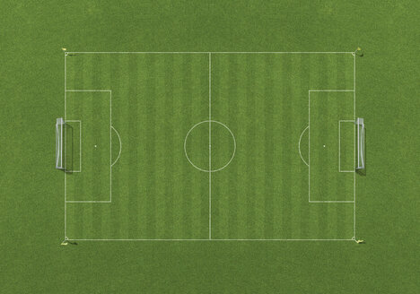 Soccer field, overhead view - WBF000235