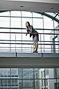 Germany, Bavaria, Business woman on the phone - MAEF002712