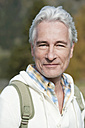 Italy, South Tyrol, Mature man smiling, portrait - WESTF015913
