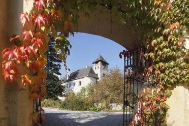 Austria, Lower Austria, Waldviertel, Wachau, Muehldorf, Hotel and castle of Oberranna - SIEF000113