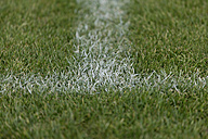 Europe, Germany, View of penalty area of soccer field - TCF001430