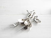 Spoons and forks, close-up - KSWF000687