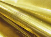 Background of gold fabric, close up - WBF000829