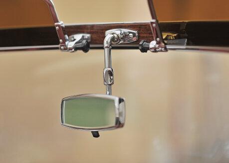 Germany, Rearview mirror of vintage car - WBF000891