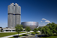 Germany, Bavaria, Munich, View of BMW headquarters - PS000438