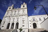 Portugal, Lisbon, View of são vicente de fora monastery - PSF000457