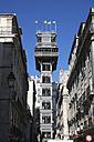 Portugal, Lisbon, Baixa district, Elevador de Santa Justa - PSF000468
