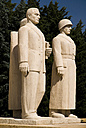 Turkey, Cappadocia, Ankara, Anitkabir, Statues of soldiers - PS000500