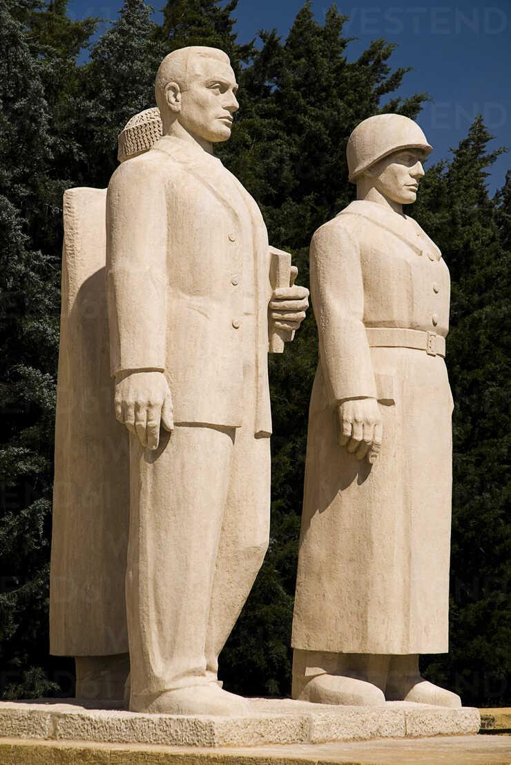 Turkey Cappadocia Ankara Anitkabir Statues Of Soldiers Ps000500 Paul Seheult Westend61