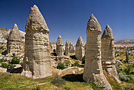 Turkey, Cappadocia, Goreme, View of rock formation - PSF000519