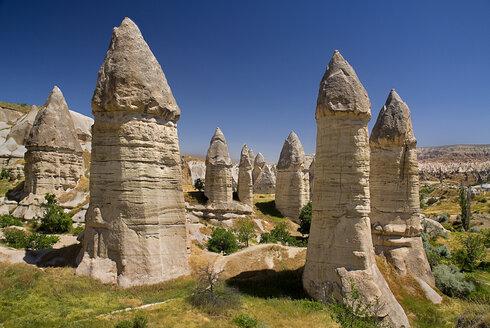 Turkey, Cappadocia, Goreme, View of rock formation - PSF000519
