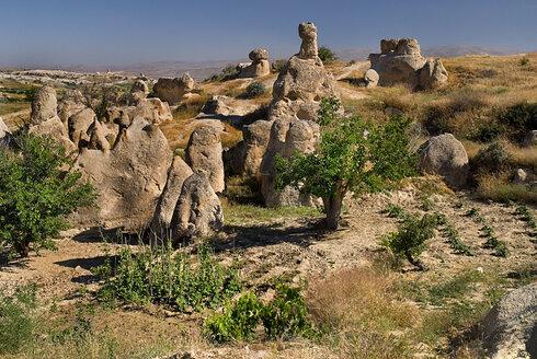Turkey, Cappadocia, Goreme, View of sword valley - PSF000532
