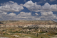 Turkey, Cappadocia, Goreme, View of valleys - PSF000543