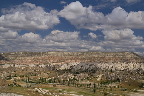 Turkey, Cappadocia, Goreme, View of valleys - PSF000543