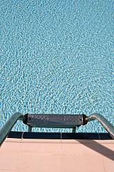 Turkey, Belek, View of swimming pool with steps - KJF000093